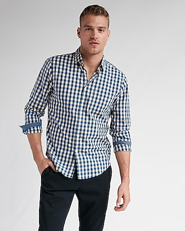 men s casual shirts express
