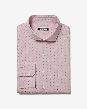 f737bcd3 Men's Dress Shirts - Solid & Patterned Dress Shirts- Express