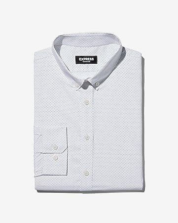 Mens Performance Fit Dress Shirts Express