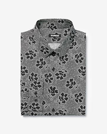 25fec7f81df9 Men s Dress Shirts - Solid   Patterned Dress Shirts- Express
