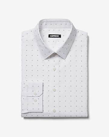fadce1b6edc2d8 Men s Dress Shirts - Solid   Patterned Dress Shirts- Express