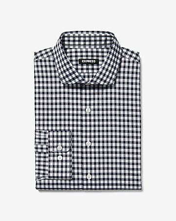 d6971478a0f19 Men s Dress Shirts - Solid   Patterned Dress Shirts- Express
