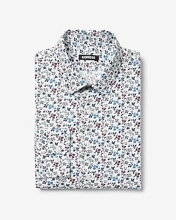 b43f2cbbc30 Men's Dress Shirts - Solid & Patterned Dress Shirts- Express