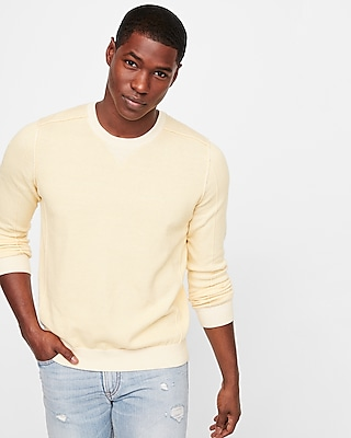 Detailed Crew Neck Sweater by Express