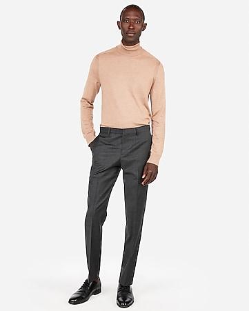 64ed51fb12d6 Express View · merino wool-blend thermal-regulating solid turtleneck sweater