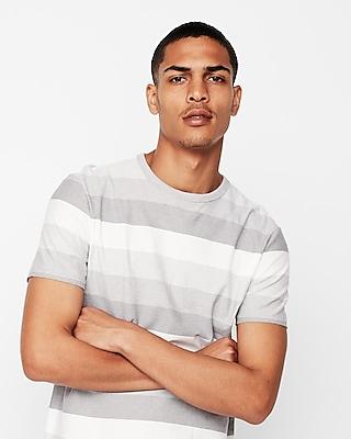 Express.com deals on Express Mini Stripe Short Sleeve Crew Neck Tee for Mens