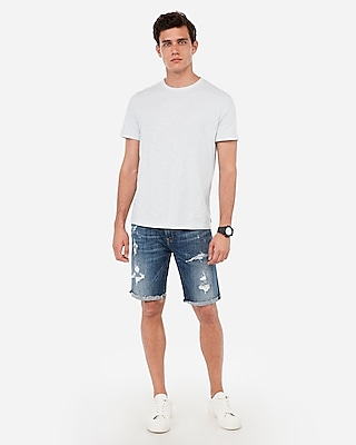 Express.com deals on Express Mens Slub Crew Neck T-Shirt