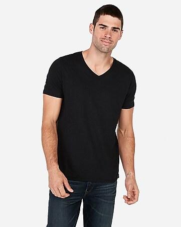 f00c5db5 Express View · slub v-neck t-shirt