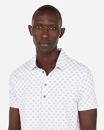 d6bd12ddd46 Express View · printed moisture-wicking performance stretch polo