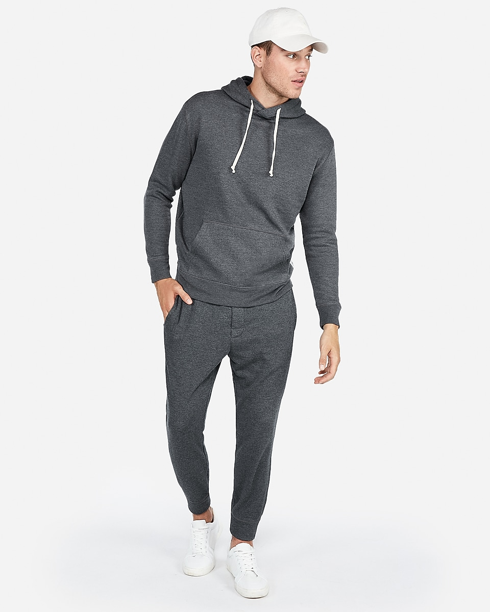 Express EXP Drop Shoulder Popover Hoodie