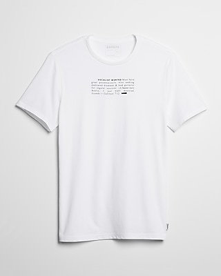 Vocalist Wanted Graphic Tee by Express