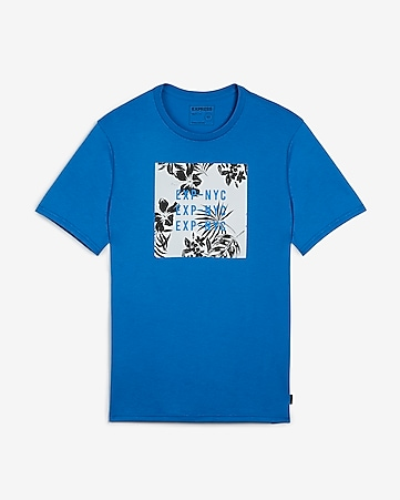 9c02f36e Express View · EXP nyc graphic crew neck t-shirt