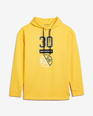 b58acbc0db6 Express View · heavyweight jersey oversized EXP hoodie