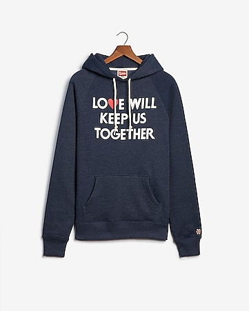 dfebbcc32a1 Express View · homage love will keep us together fleece hoodie