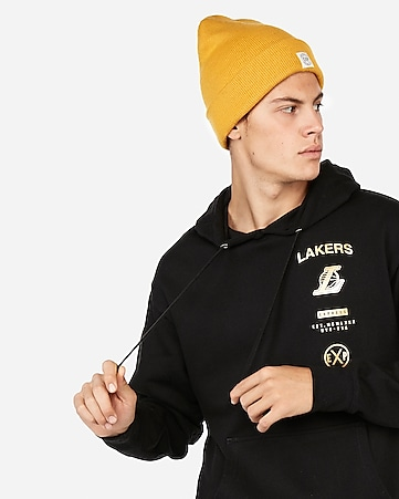 Los Angeles Lakers Nba Fleece Foil Graphic Hoodie by Express
