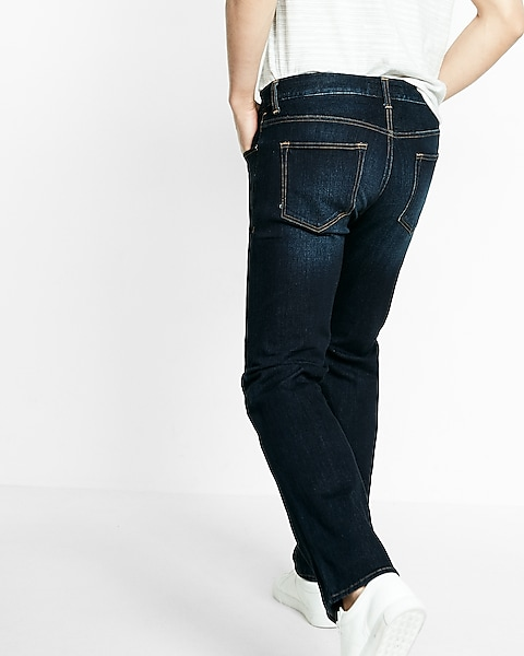 0a0a1eb3 Classic Straight 4 Way Hyper Stretch 365 Comfort Jeans | Express