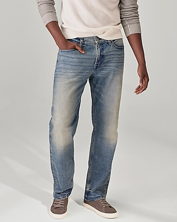 classic boot thick stitch stretch jeans