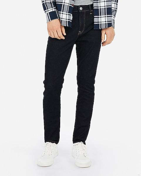 fashion styles classic styles enjoy big discount Athletic Slim Dark Wash Hyper Stretch Jeans