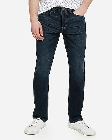 51101c76acd Express View · classic straight dark wash stretch jeans