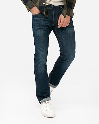 Slim Medium Wash Selvedge Stretch Jeans by Express