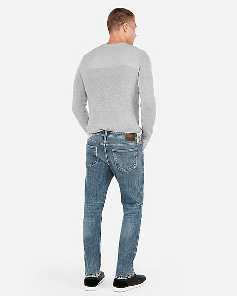 aae3e6a8 Slim Straight 365 Comfort 4 Way Hyper Stretch Jeans | Express