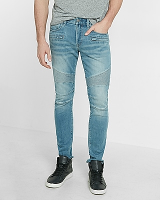 Skinny Moto Stretch Jeans | Express