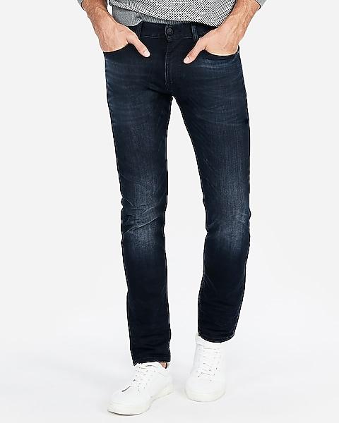 quality design 9098d 66beb Skinny Dark Wash Hyper Stretch Jeans