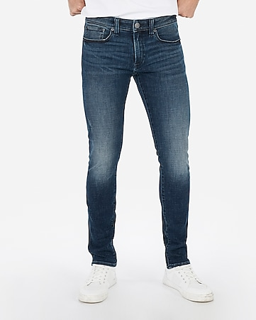 16f9f88e5df8dc Express View · skinny light wash hyper stretch jeans