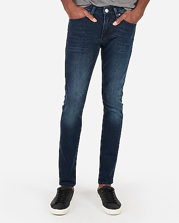 9196196583d Express View · super skinny dark wash stretch jeans