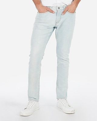 Skinny Light Wash Stretch Jeans by Express