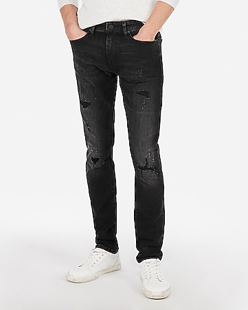 find lowest price amazing selection fantastic savings Skinny Black Hyper Stretch Jeans