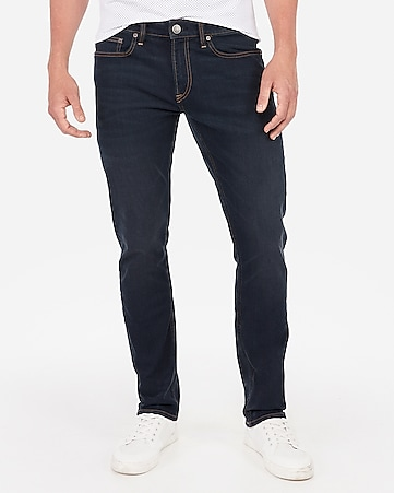 06e2cbdfb274a Express View · skinny medium wash tough stretch jeans