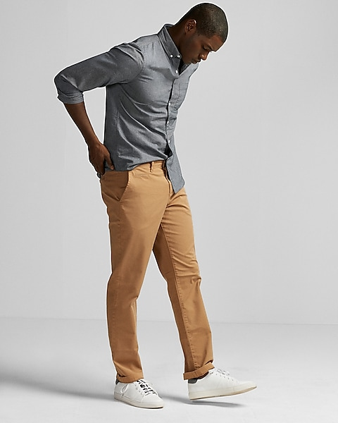 355b6265 Slim Garment Dyed Stretch Chino | Express