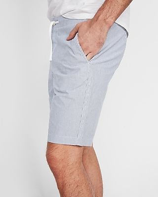 9-inch-striped-drawstring-shorts by express