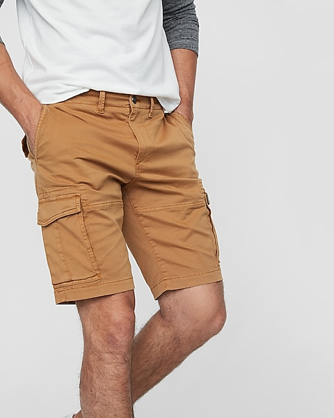 a453f02763 Classic Fit 10 Inch Stretch Cargo Shorts | Express