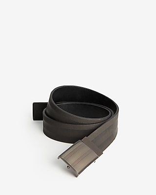 Lined Reversible Plaque Belt by Express