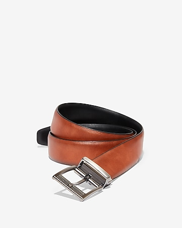 996c482fefa38 Express View · stretch reversible perforated buckle strap belt