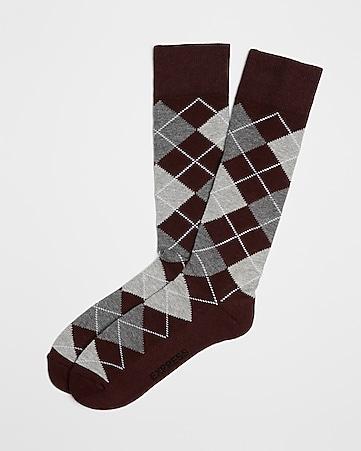 f02ae0ecd98e Men's Accessories: Socks - Shop Men's Printed Socks - Express