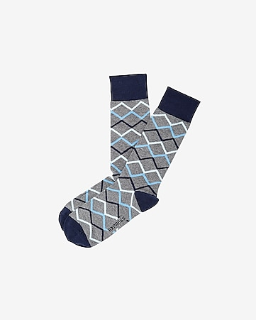 7eac39030a24 Men's Accessories: Socks - Athletic, Printed & Dress Socks - Express