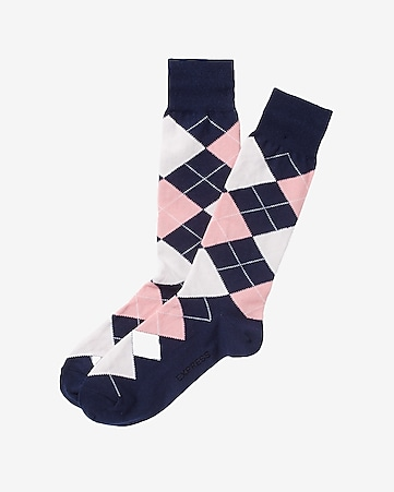 classic argyle dress socks