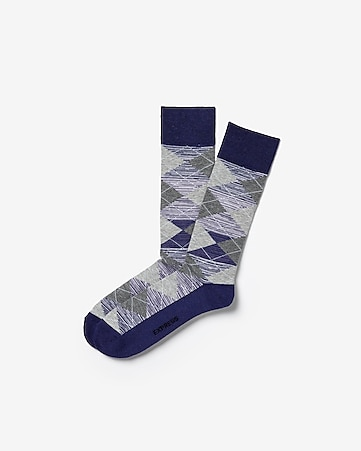 d2ffd9c1938 Express View · space dyed cushioned argyle socks