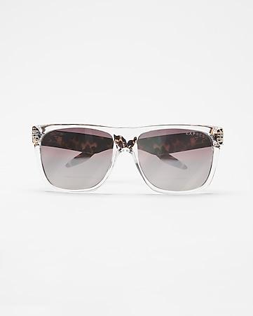 f5f99f4559 tortoiseshell clear frame sunglasses