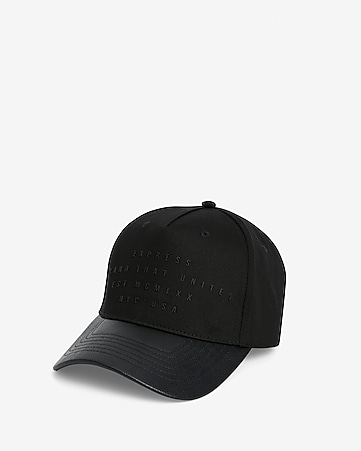 4aa0028f0 Express View · embroidered brand that unites baseball hat