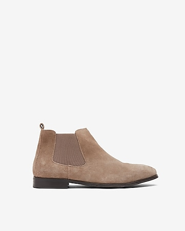 a14890bc5 Express View · genuine suede chelsea boot