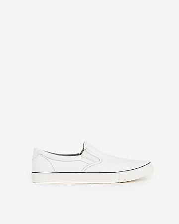 7a095c60e Express View · solid slip-on sneakers