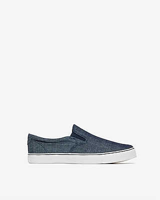 Chambray Slip On Sneakers by Express