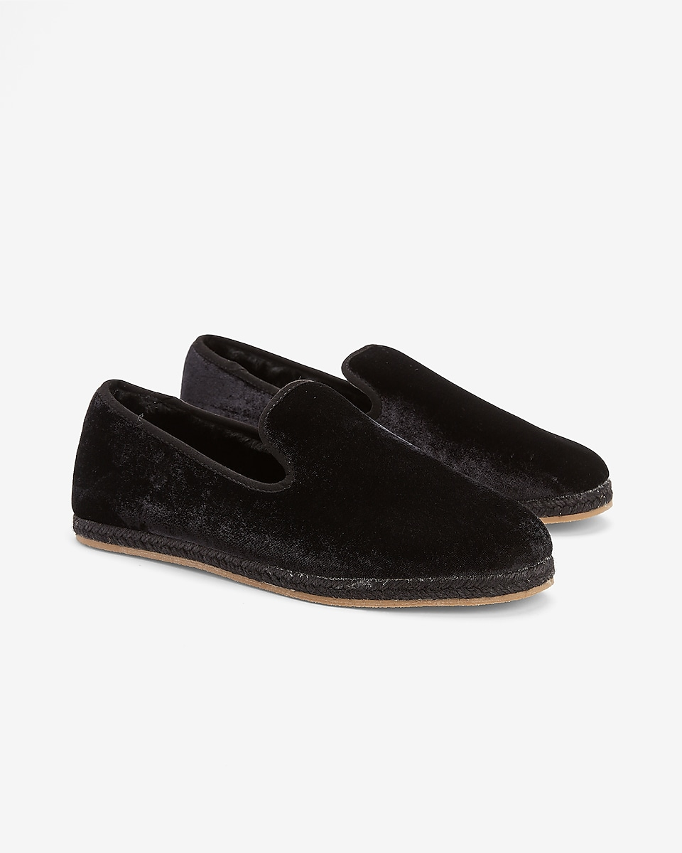 Express Men's Faux Fur Lined Slippers