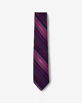 Striped Narrow Silk Tie by Express