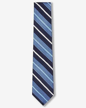 multi stripe narrow tie