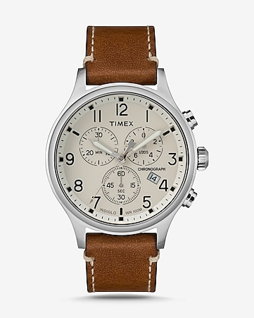 21d44dcccb21f1 express view · timex scout chronograph watch